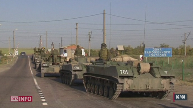 Ukraine: l'aide humanitaire n'arrive pas [RTS]