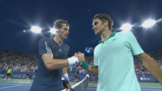 Quart de finale: Roger Federer passe l'obstacle Andy Murray [RTS]