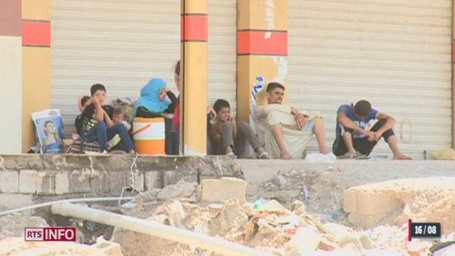 Irak: la population yézidie souffre [RTS]