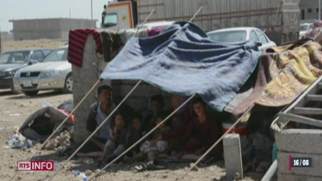 Irak: les forces kurdes veulent récupérer le barrage de Mossoul [RTS]