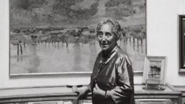 Marie Mauron présente une exposition de peinture sur la Camargue. [RTS]