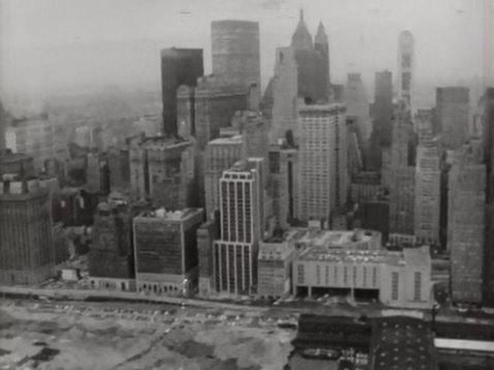 New York, une ville confrontée à son gigantisme et au désoeuvrement. [RTS]