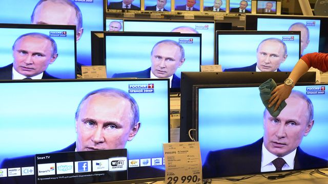 Les médias étrangers dénigrent-ils exagérément la Russie de Vladimir Poutine? [Alexander Nemenov - AFP]