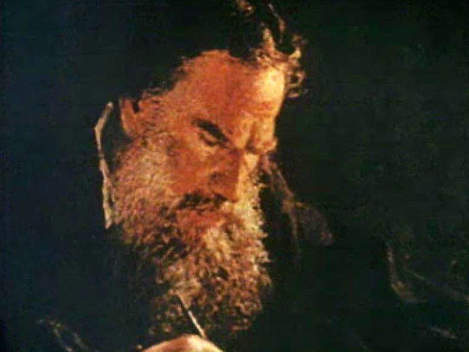 Coup de tonnerre: Tolstoï choisit d'abandonner sa maison. [RTS]