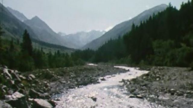 Un itinéraire le long de la Dranse pour découvrir le Val Ferret. [RTS]