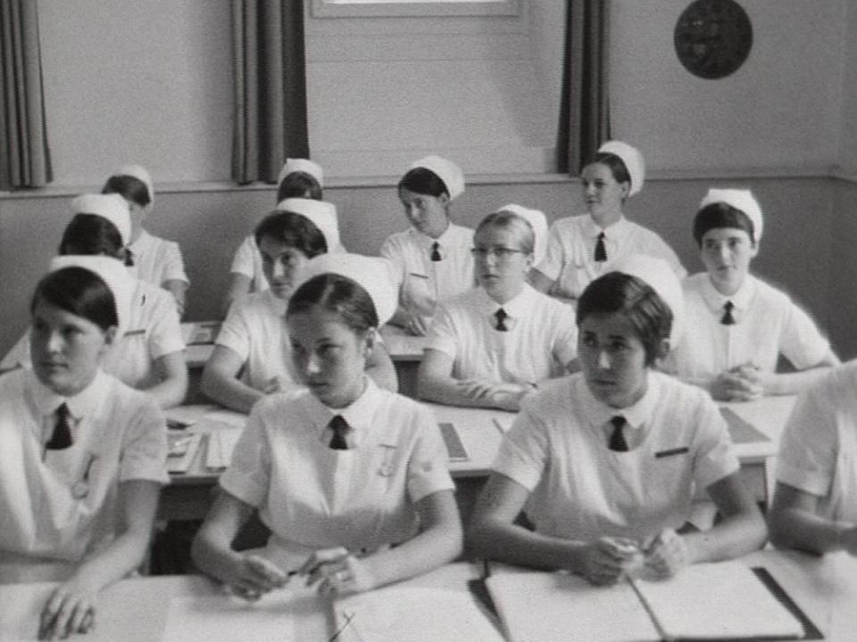 L'école de puériculture des Brenets en 1969. [RTS]