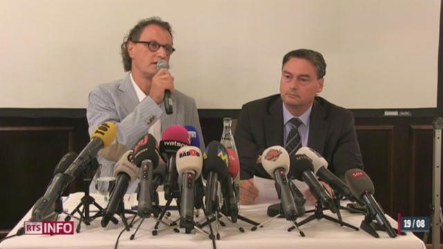 AG: le maire de Baden ne démissionnera pas de ses fonctions [RTS]