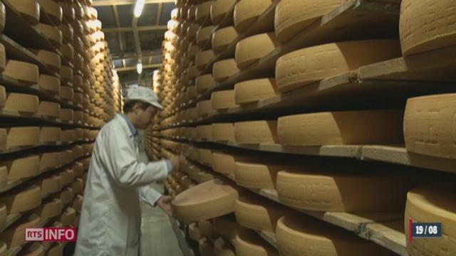 Russie: l'exportation laitière suisse pourrait être avantagée par l'embargo [RTS]
