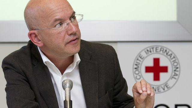 Yves Daccord, directeur général du CICR. [Salvatore di Nolfi - Keystone]