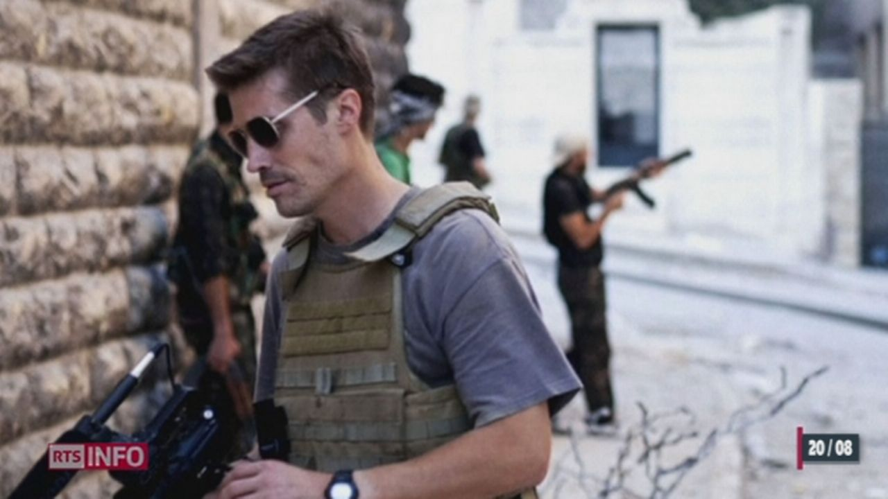 L'Etat islamique revendique la décapitation d'un journaliste américain [RTS]