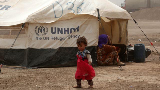 Aide humanitaire sans précédent du HCR dans le nord de l'Irak [AP Photo/ Khalid Mohammed - Keystone]