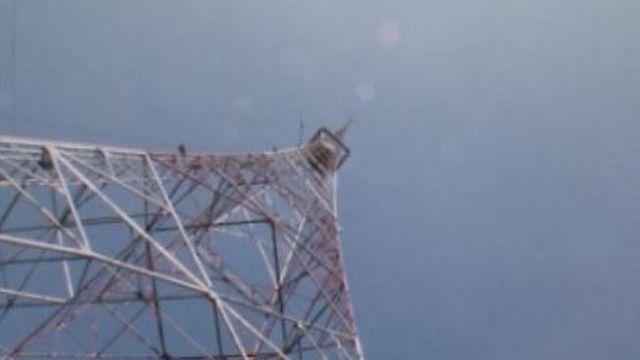 L'émetteur de Sottens en 1981. [RTS]
