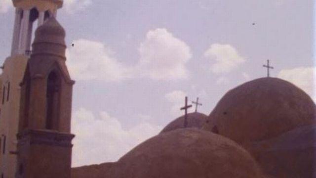 Un site archéologique exceptionnel pour les Coptes d'Egypte. [RTS]