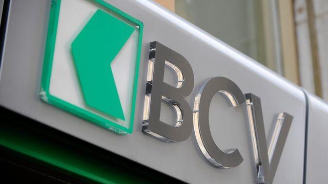 Le Logo de la Banque cantonale vaudoise. [Dominic Favre - Keystone]