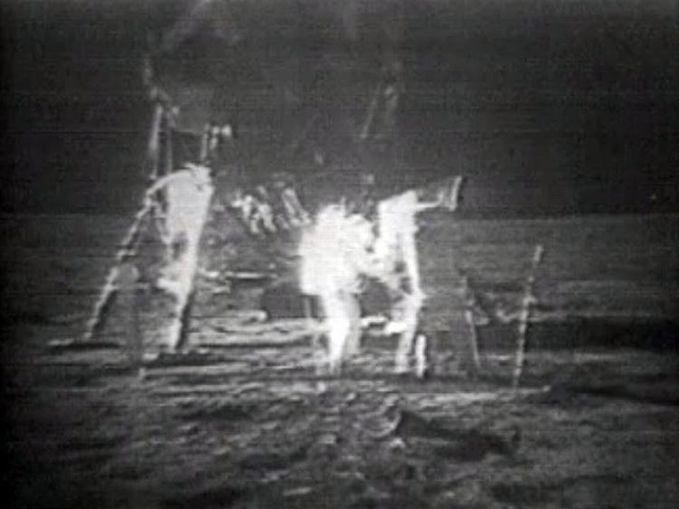 Le 21 juillet 1969, un homme marche sur la lune. [RTS]