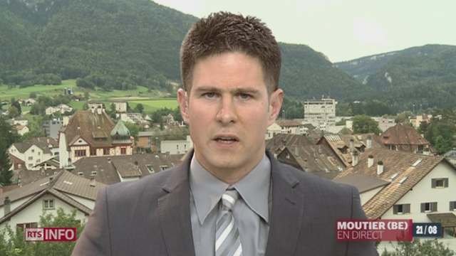 L'aéroport de Bâle-Mulhouse menacé: les explications de Julien Hostettler, à Moutier (BE)