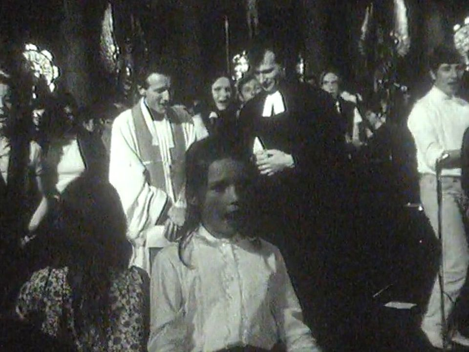 Les pasteurs aussi se mettent au jazz durant le Festival. [RTS]
