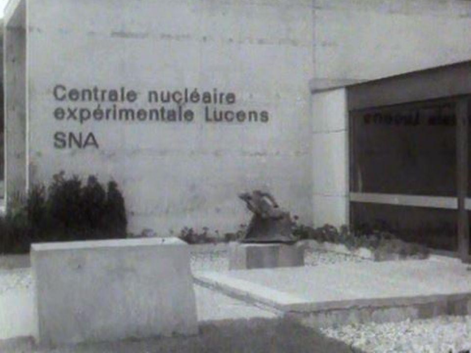 Une fuite radioactive à la centrale de Lucens. Alerte! [RTS]