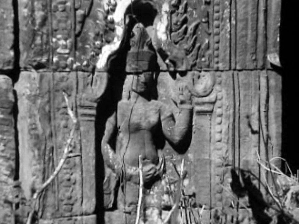La lutte contre la végétation est une priorité à Angkor.
