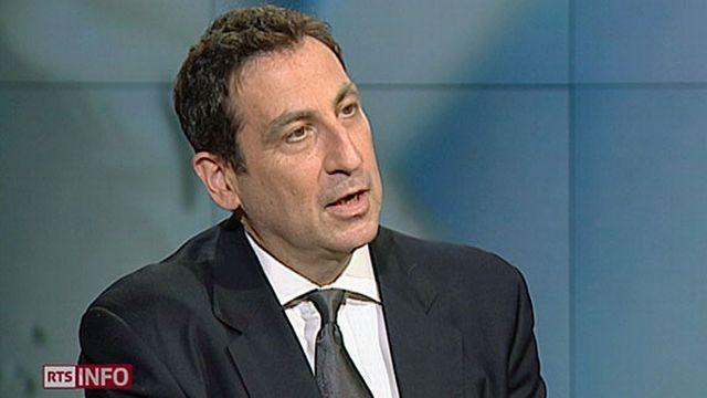 David Sylvan, professeur de relations internationales à l'HEID. [RTS]