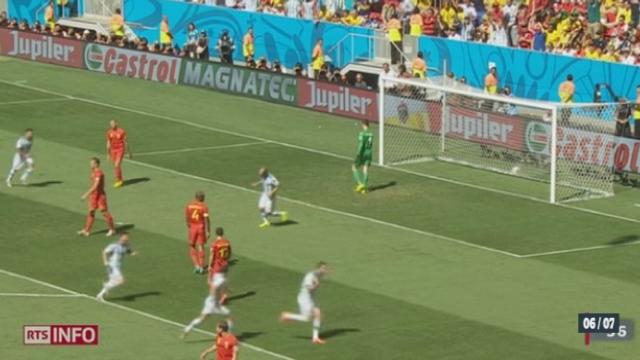 Football - Coupe du Monde: l'Argentine accède aux demi-finales [RTS]