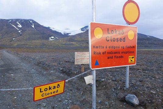 L'accès au Bardarbunga est fermé en raison des menaces d'explosion. [EPA/Vilhelm Gunnarsson - Keystone]