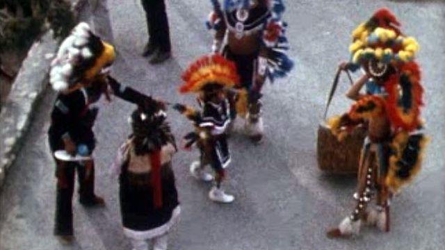 Les Indiens navajos vivent misérablement sous tutelle américaine. [RTS]