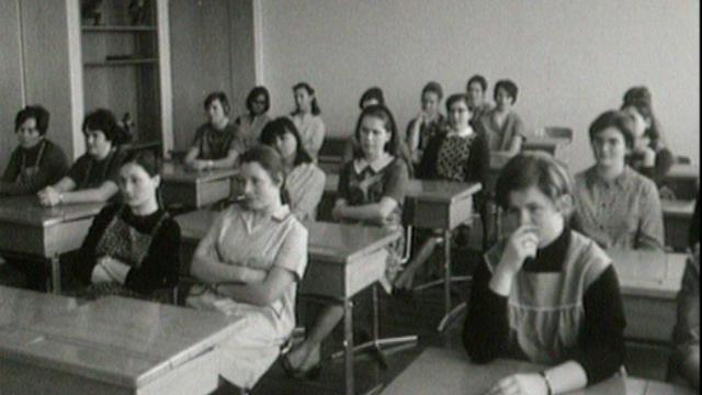 Ecole ménagère de Marcelin [Archives TSR 1969]