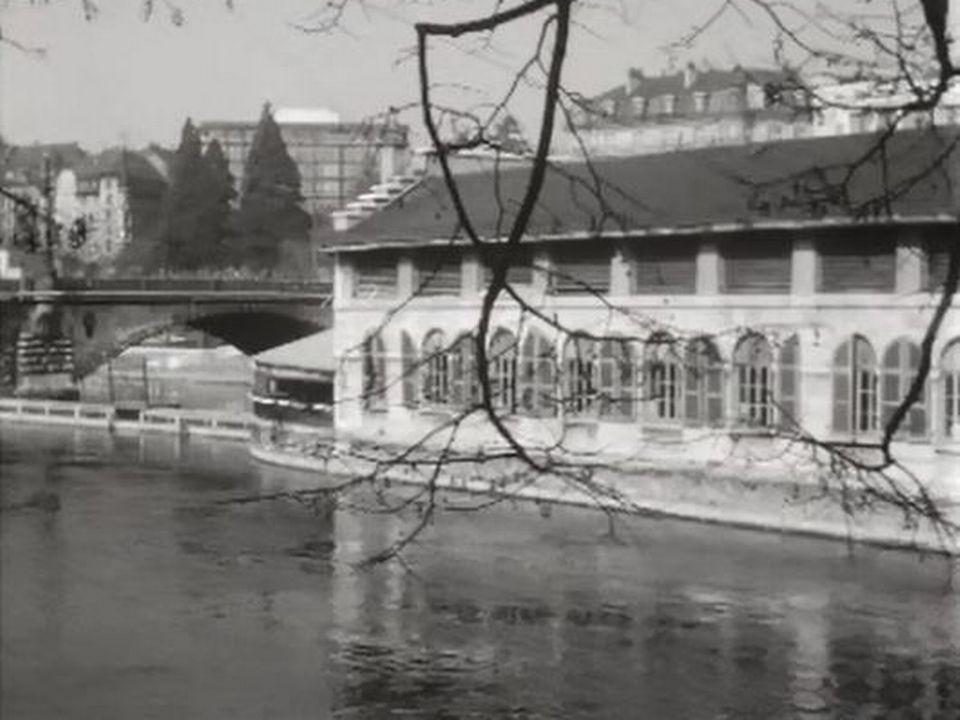 Les halle de l'île de Genève doivent être rénovées ou démolies. [RTS]