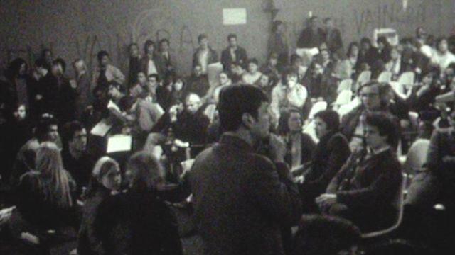 Université de Nanterre en mars 1969 [RTS]