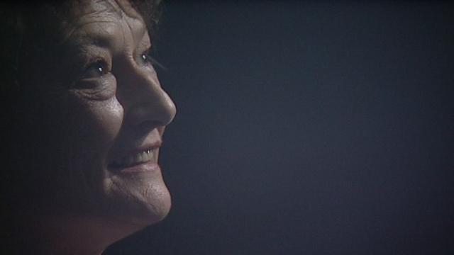 La comédienne Véronique Mermoud invitée de l'émission Singulier en 2007. [RTS]