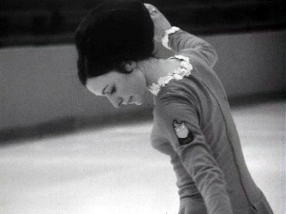 Programme imposé de la patineuse américaine Flemming.
