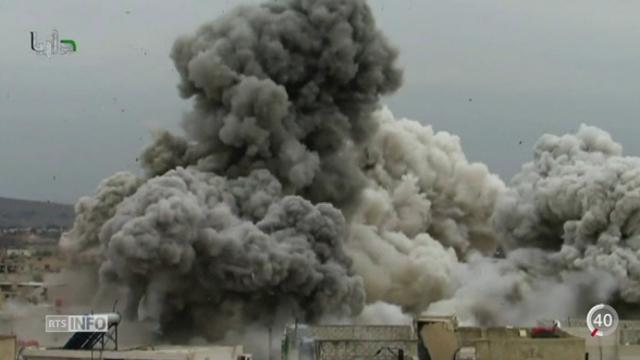 Syrie: l'ONU dénonce les méthodes employées par l'Etat islamique [RTS]