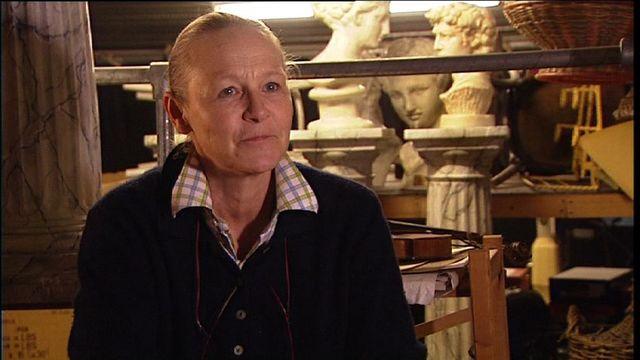 La metteuse en scène Gisèle Sallin, en 2009. [RTS]