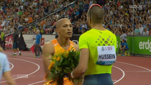 400 m haies messieurs: Cornel f-redericks (AfS) s'impose en 48''25. Karien Hussein finit 4e en 48''70 (26 centièmes de mieux qu'aux Européens) [RTS]