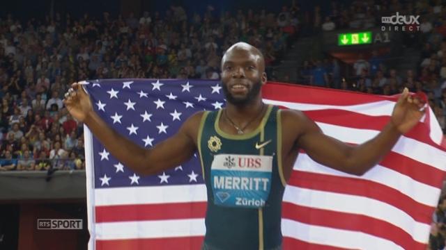 400 m messieurs: LaShawn Merritt (USA) tient son rôle [RTS]