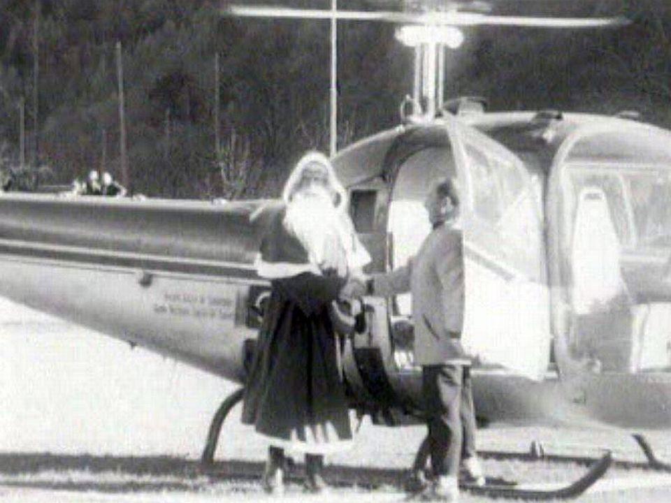 Rien ne remplace l'hélicoptère pour descendre du ciel.