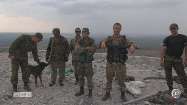 La Russie est accusée d'intervention militaire en Ukraine [RTS]
