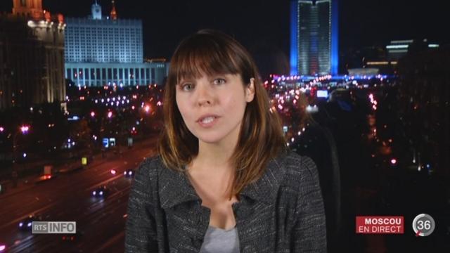 Crise en Ukraine: les précisions d'Isabelle Cornax, à Moscou [RTS]