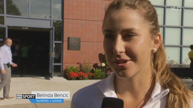 Tennis - US Open: Belinda Bencic se qualifie pour son premier 8ème de finale [RTS]
