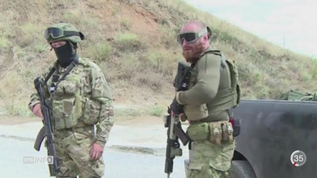 Ukraine: les rebelles pro-russes préparent une grande offensive sur la région de Marioupol [RTS]