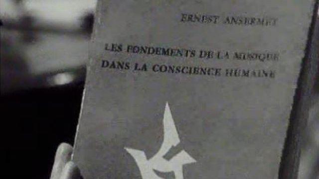 Une amitié entre philosophes: Ansermet et Piguet. [RTS]