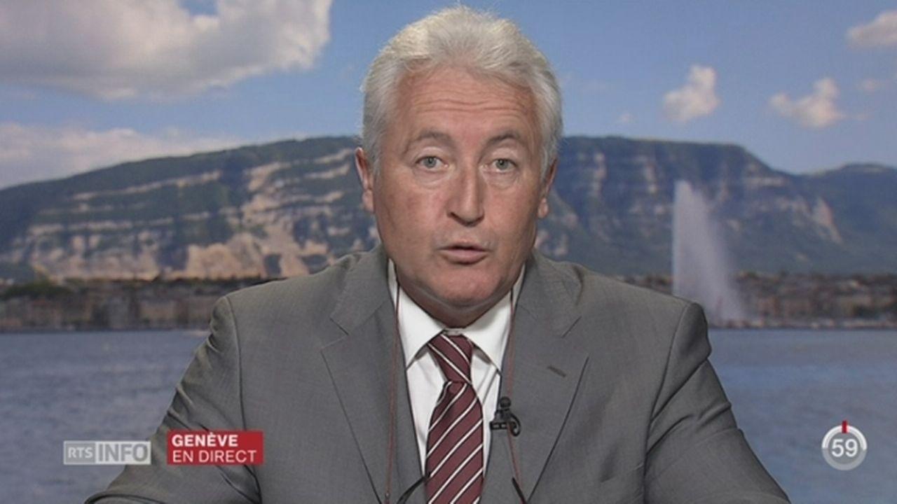 GE - Etats-généraux du transport: entretien avec Luc Barthassat [RTS]