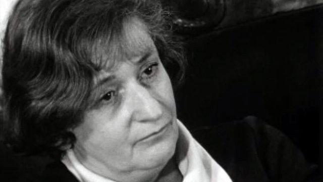 La journaliste Isabelle Vichniac a suivi le Printemps de Prague. [RTS]