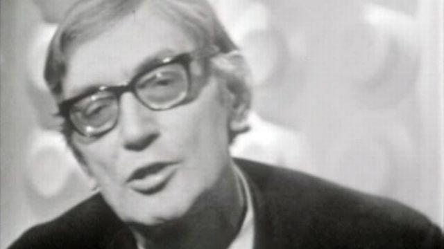 Maurice Clavel en débat en 1969. [RTS]