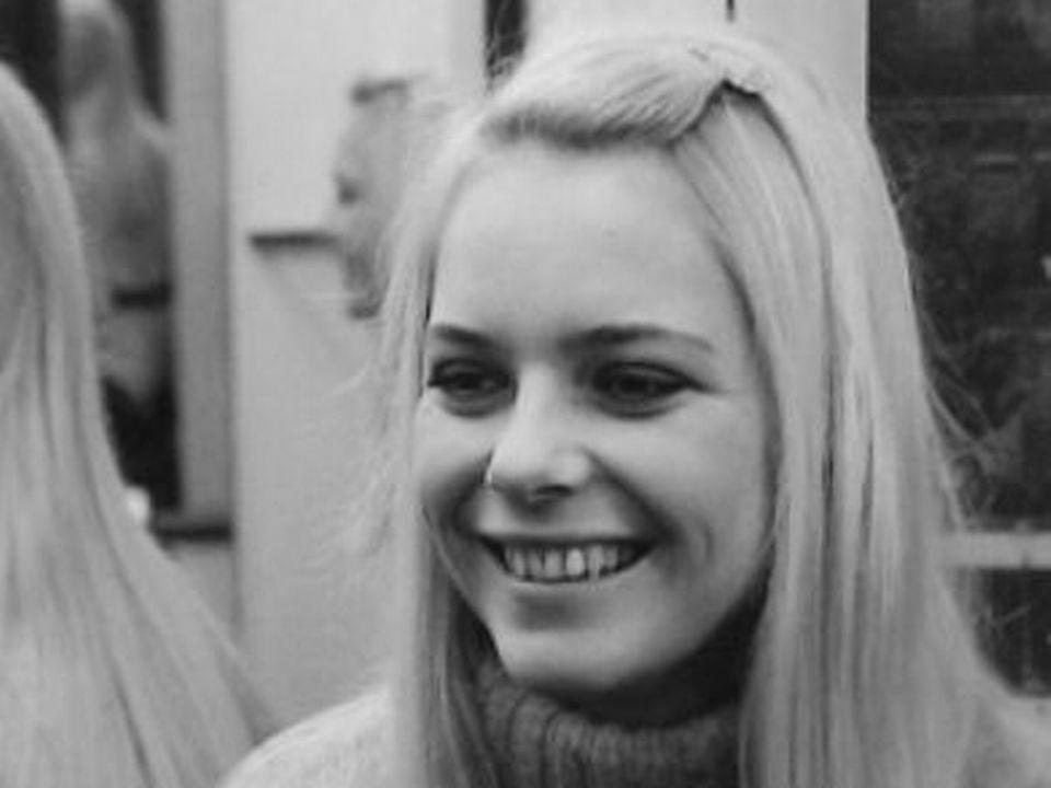 La chanteuse française France Gall [TSR 1969]