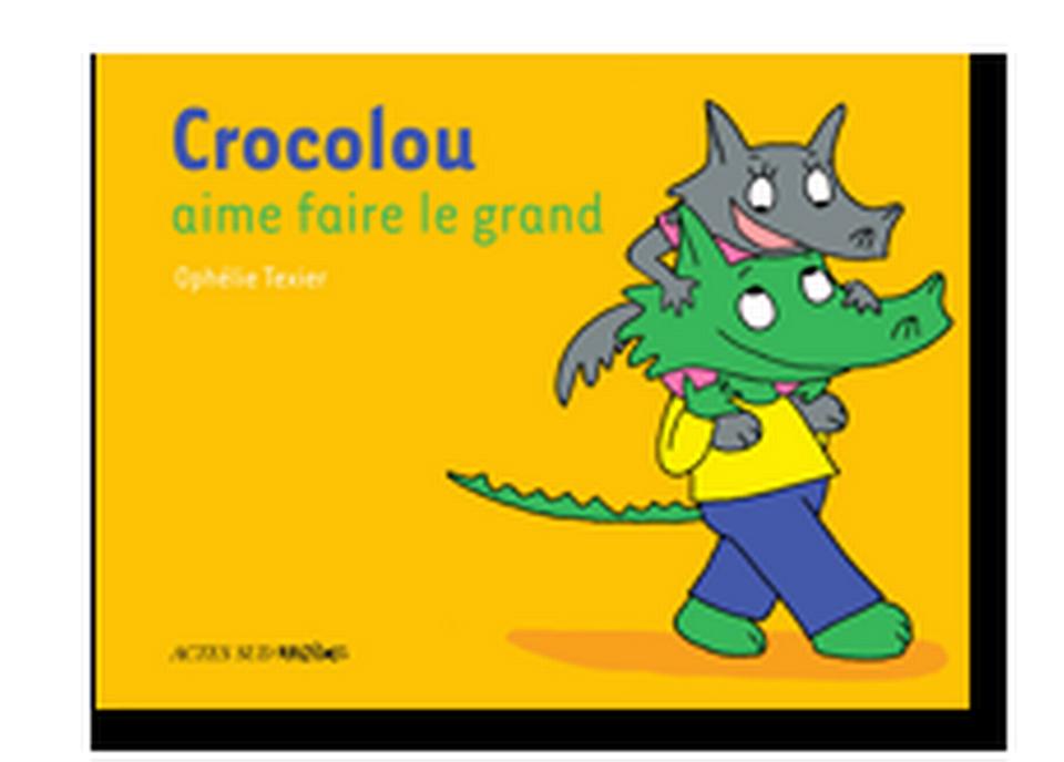 """""""Crocolou aime faire le grand"""" de Ophélie Texier. [RTS]"""