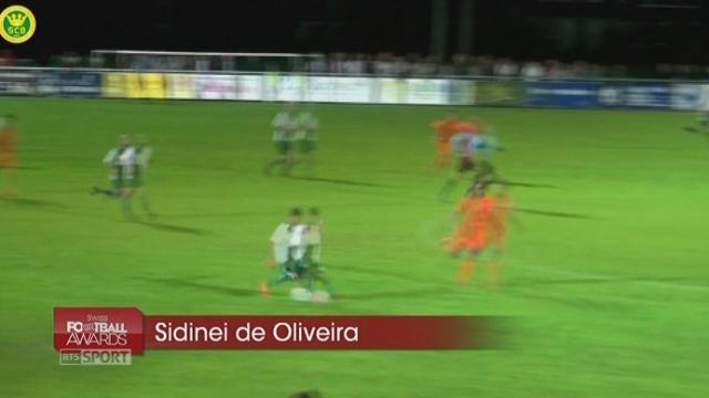 «But de l'année»: Sidinei De Oliveira (SC Brühl-1re Ligue) [RTS]