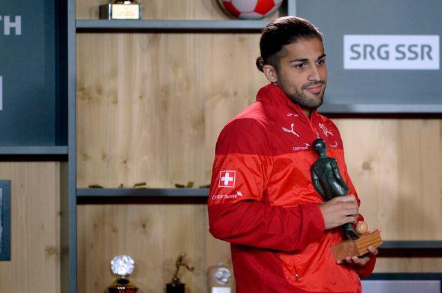 Rodriguez avait fait ses débuts internationaux en 2011. Que de chemin parcouru! [Urs Flueeler - Keystone]