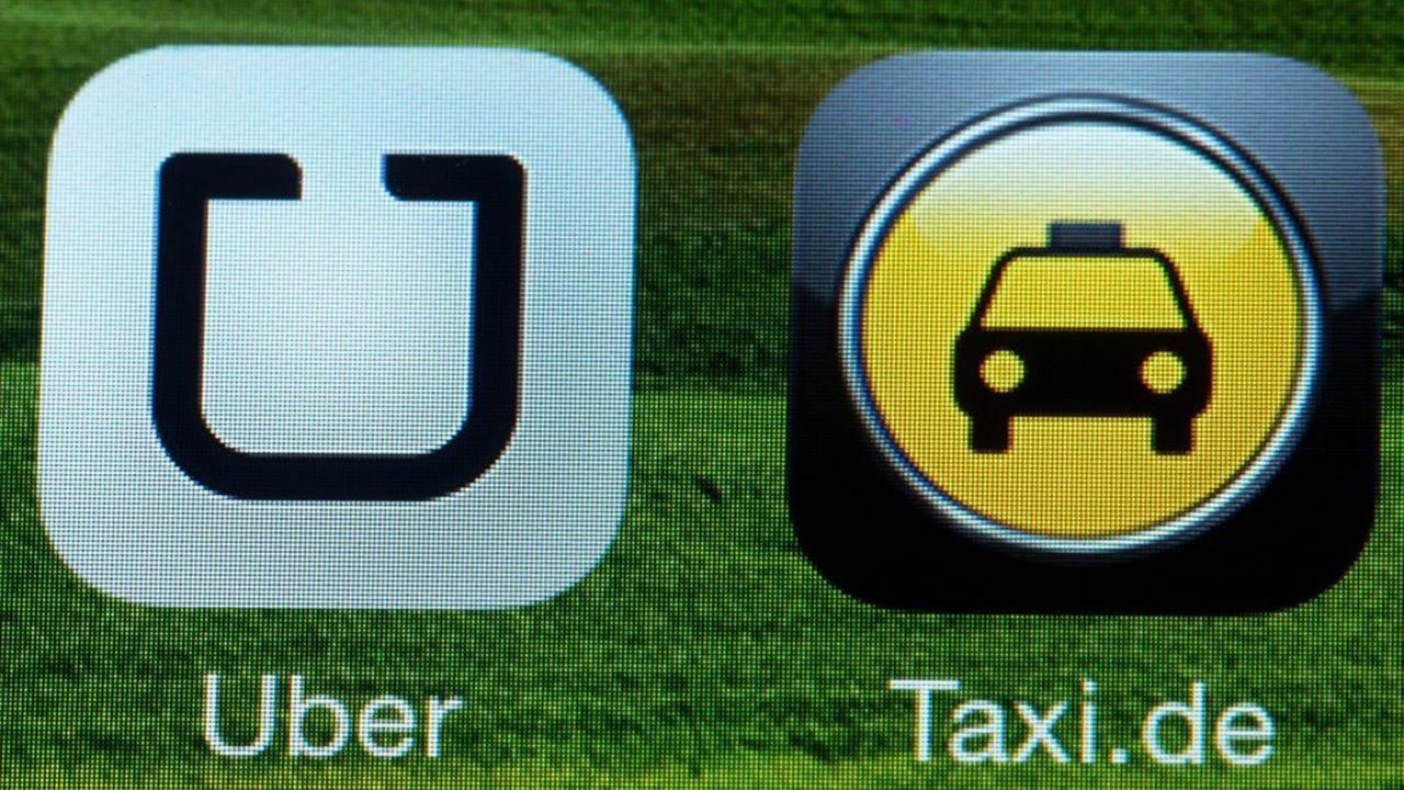 Le service controversé de taxi Uber a été interdit d'exercer son activité en Allemagne. [EPA/JENS BUETTNER - Keystone]